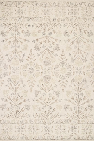 Ivory, Neutral Transitional Area Rug