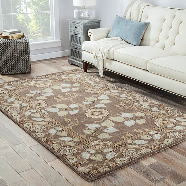 Dark Grey (PM-74) Traditional / Oriental Area Rug