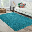 Product Image of Cool Aqua (CL-02) Natural Fiber Area Rug