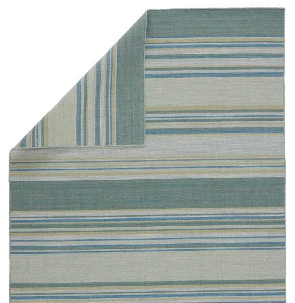 Porcelain Blue (COH-07) Striped Area Rug