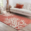 Product Image of Apricot, Ivory (COS-02) Beach / Nautical Area Rug