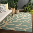 Product Image of Frosty Green (COL-13) Beach / Nautical Area Rug