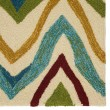 Product Image of Dark Ivory (COL-18) Contemporary / Modern Area Rug