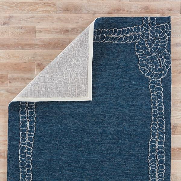 Mallard Blue, Ivory (COL-49) Outdoor / Indoor Area Rug