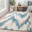 Product Image of Campanula, Blue (BL-141) Transitional Area Rug