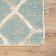Product Image of Blue, Cream, Tan (BL-157) Transitional Area Rug