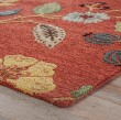 Product Image of Copper Brown, Mustard Gold (BL-05) Floral / Botanical Area Rug