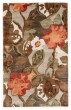 Product Image of Floral / Botanical Brown, Orange (BL-12) Area Rug