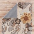 Product Image of White, Nickel (BL-65) Floral / Botanical Area Rug