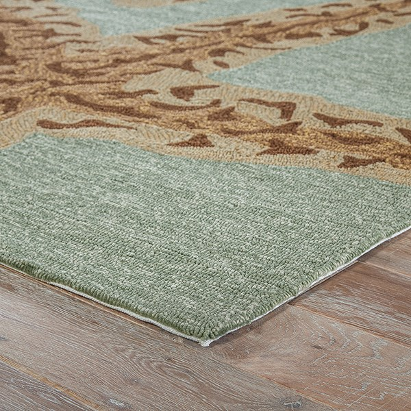Silver Lake Blue (GD-19) Outdoor / Indoor Area Rug