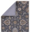 Product Image of Dark Blue, Tan (MY-20) Traditional / Oriental Area Rug