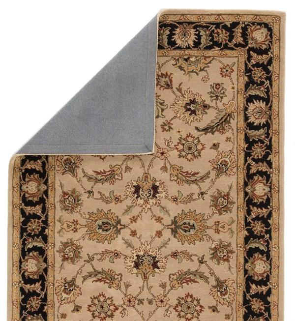Beige, Ebony (MY-02) Traditional / Oriental Area Rug