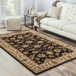 Product Image of Ebony, Sand (MY-03) Traditional / Oriental Area Rug