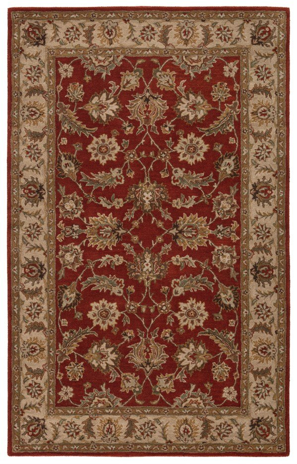 Red Oxide, Sand (MY-04) Traditional / Oriental Area Rug
