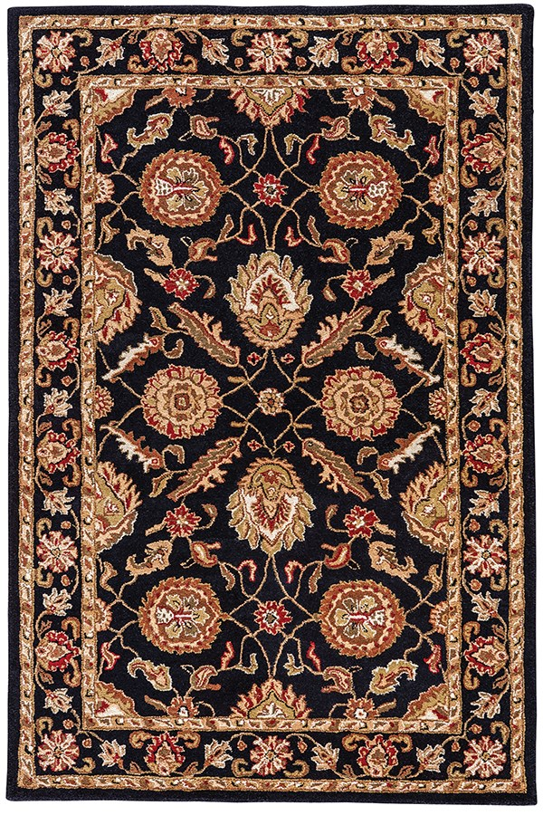 Ebony (MY-10) Traditional / Oriental Area Rug