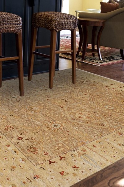 Oatmeal, Soft Gold (OP-17) Bohemian Area Rug