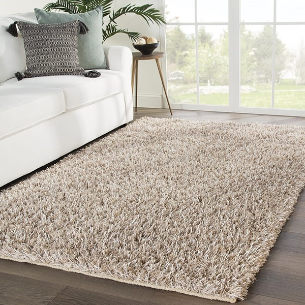 Taupe (ND-09) Shag Area Rug