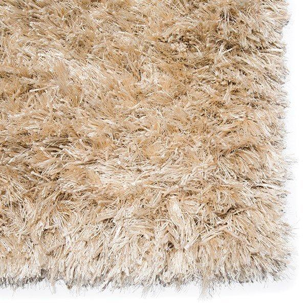 Ivory, Gold (ND-10) Shag Area Rug