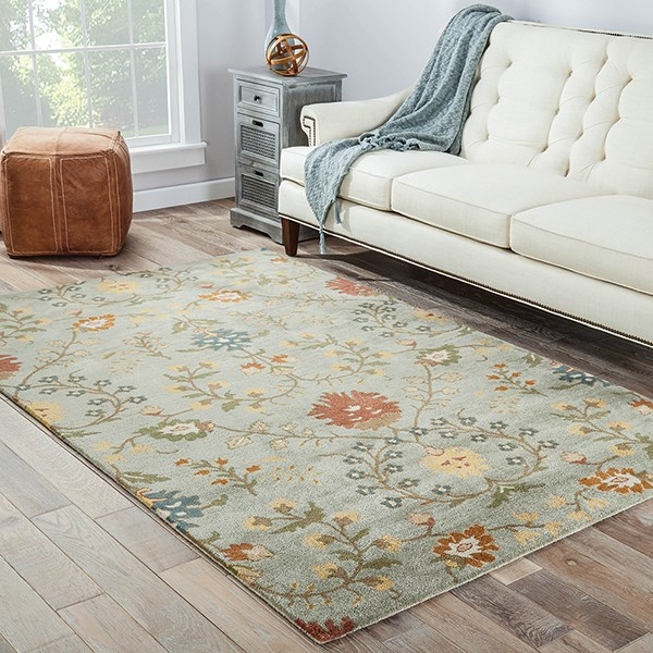 Sea Blue (PG-01) Traditional / Oriental Area Rug