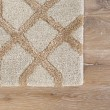 Product Image of Beige, Gold (CT-114) Moroccan Area Rug