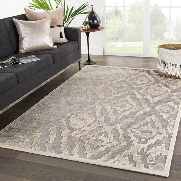 Brown, Beige (FB-166) Contemporary / Modern Area Rug