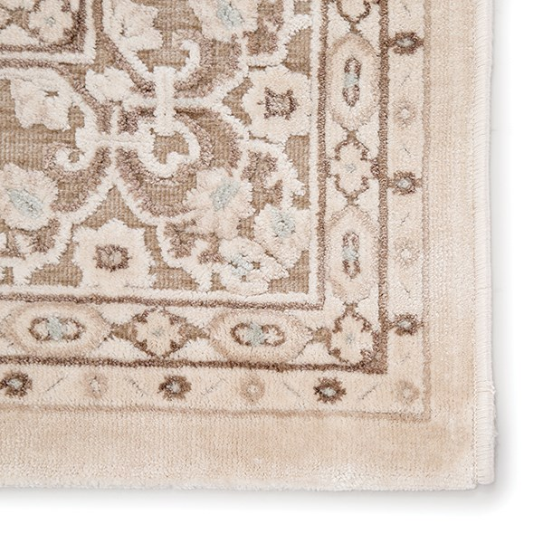 Tan, Ivory (FB-183) Traditional / Oriental Area Rug