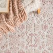 Product Image of Ivory, Pink (FB-181) Traditional / Oriental Area Rug