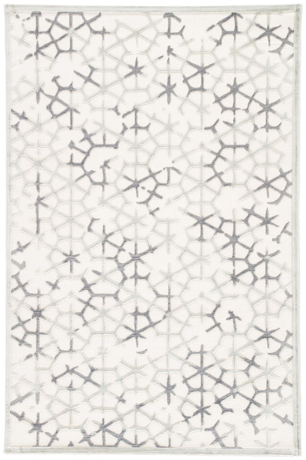 Ivory, Gray (FB-82) Transitional Area Rug