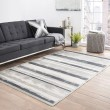 Product Image of Ivory, Gray (FB-83) Transitional Area Rug