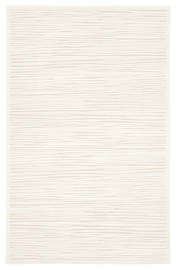 White (FB-53) Textured Solid Area Rug