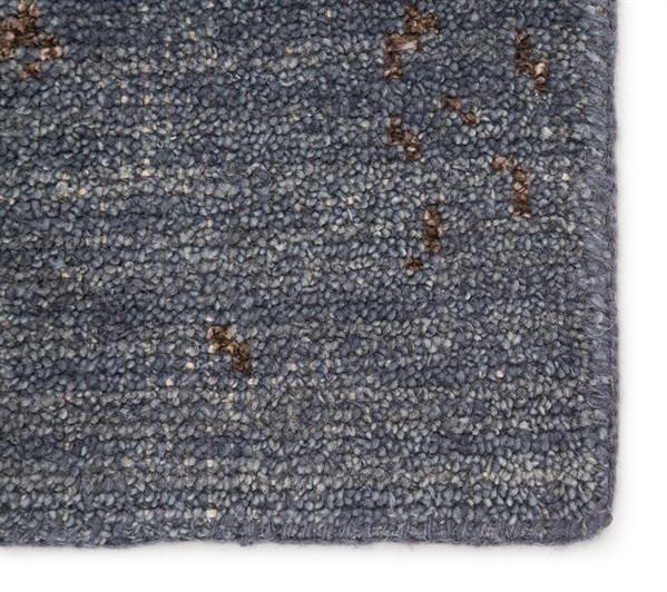 Blue, Brown (HR-19) Vintage / Overdyed Area Rug