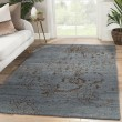 Product Image of Blue, Brown (HR-19) Vintage / Overdyed Area Rug