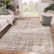 Product Image of Ivory, Grey (HR-20) Abstract Area Rug