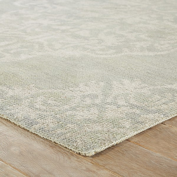 Gray (HR-02) Damask Area Rug