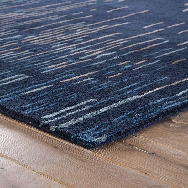 Blue, Taupe (CAS-14) Contemporary / Modern Area Rug