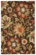 Product Image of Floral / Botanical Dark Chocolate (HAC-07) Area Rug