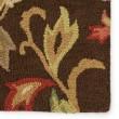 Product Image of Dark Chocolate (HAC-07) Floral / Botanical Area Rug