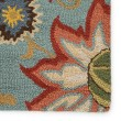 Product Image of Light Turquoise (HAC-09) Floral / Botanical Area Rug