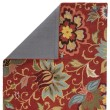 Product Image of Velvet Red (HAC-11) Floral / Botanical Area Rug