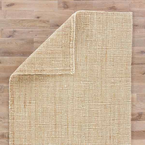 Tan, White (NAL-06) Casual Area Rug