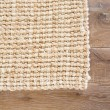 Product Image of Tan, White (NAL-06) Casual Area Rug