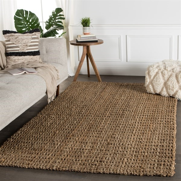 Natural Silver (NAL-03) Natural Fiber Area Rug