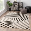 Product Image of Black, Gray (PAO-05) Outdoor / Indoor Area Rug