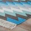 Product Image of Turquoise (DES-01) Southwestern / Lodge Area Rug