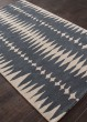 Product Image of Deep Blue, Dark Ivory (LST-27) Contemporary / Modern Area Rug