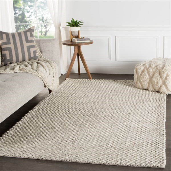 Natural White (SCD-05) Solid Area Rug
