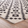Product Image of Antique White, Ebony (SCN-01) Transitional Area Rug