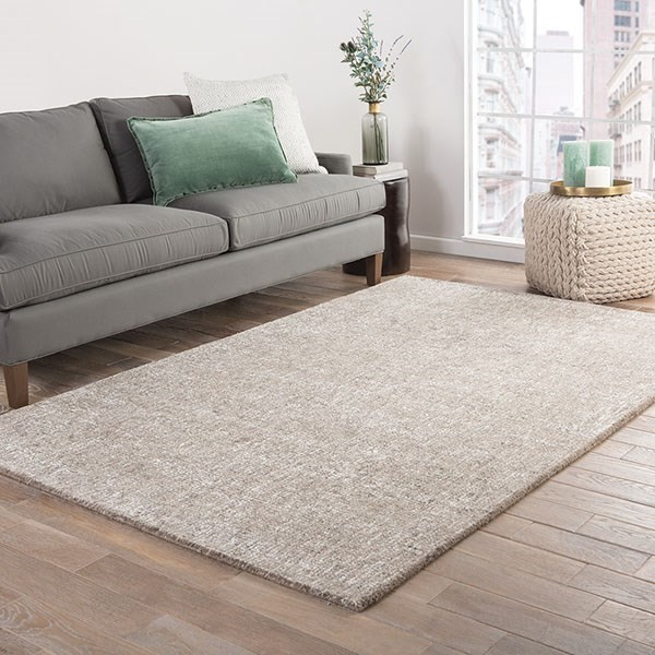 Solid Taupe (BRP-06) Casual Area Rug