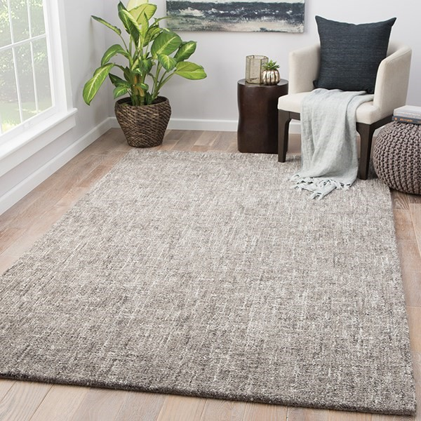 Gray, Taupe (BRP-07) Casual Area Rug