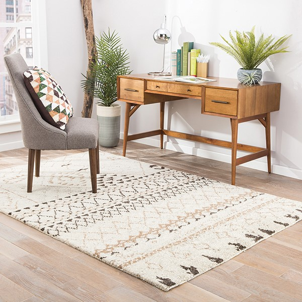 Natural White (ZUI-05) Moroccan Area Rug